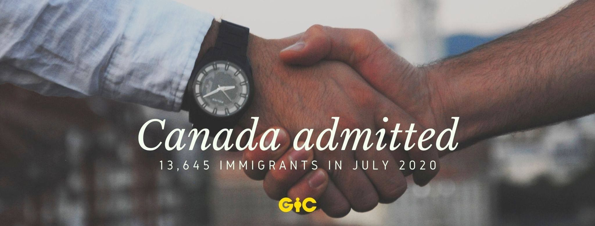 Canada admitted 13,645 immigrants in July 2020