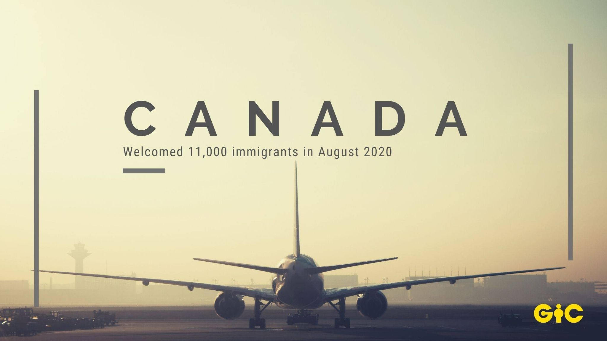 Canada welcomed 11,000 immigrants in August 2020