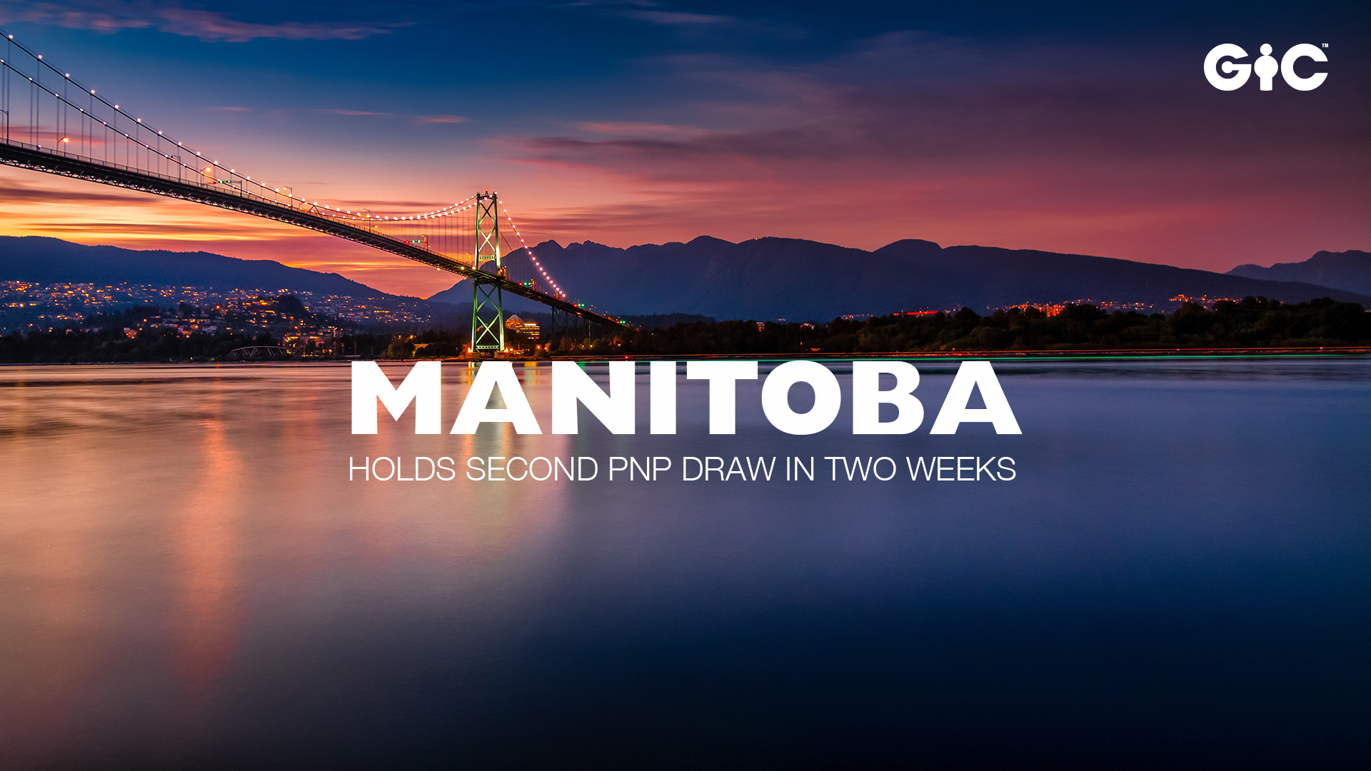 Manitoba holds second PNP draw in two weeks