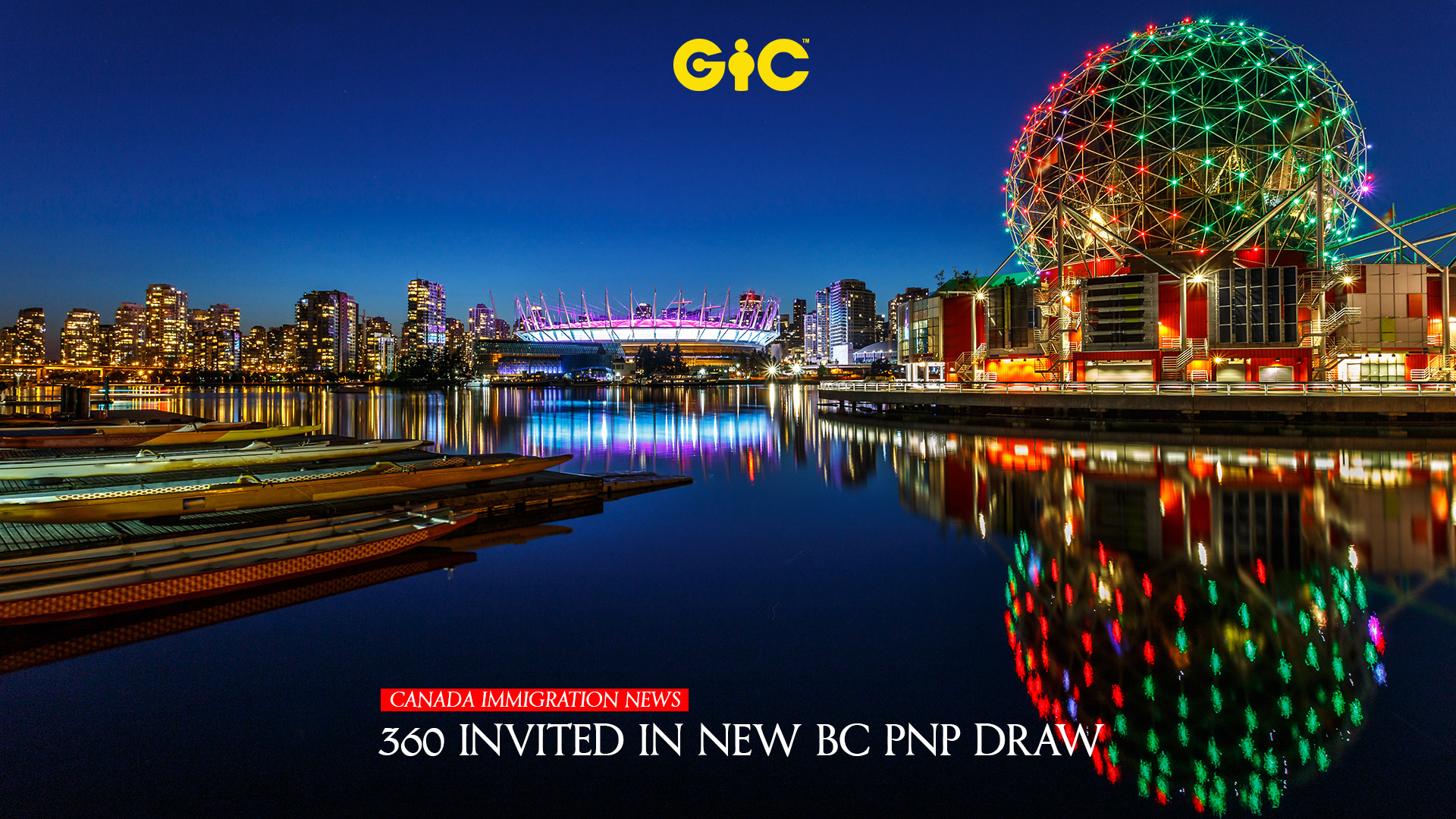 360 invited in new BC PNP draw