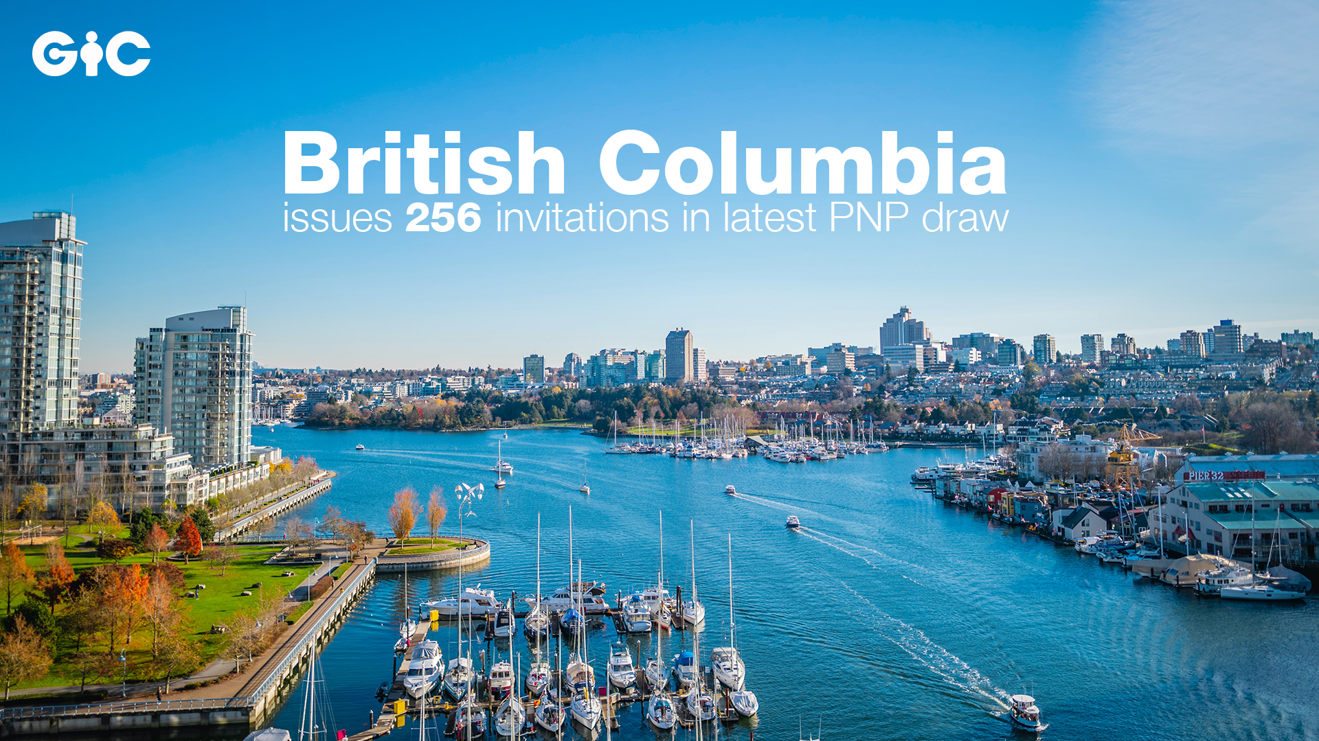 British Columbia issues 256 invitations in latest PNP draw