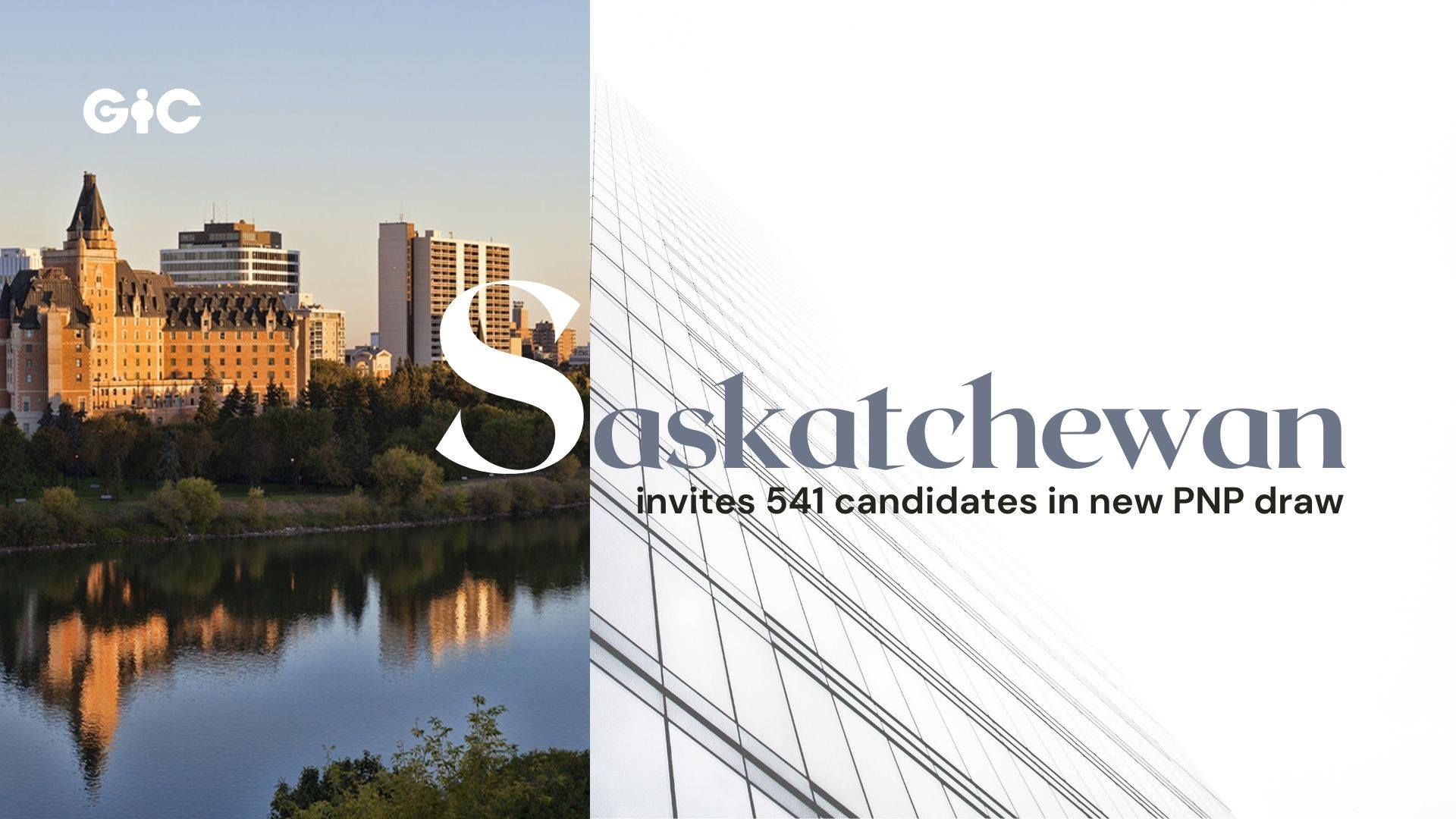 Saskatchewan invites 541 candidates in new PNP draw