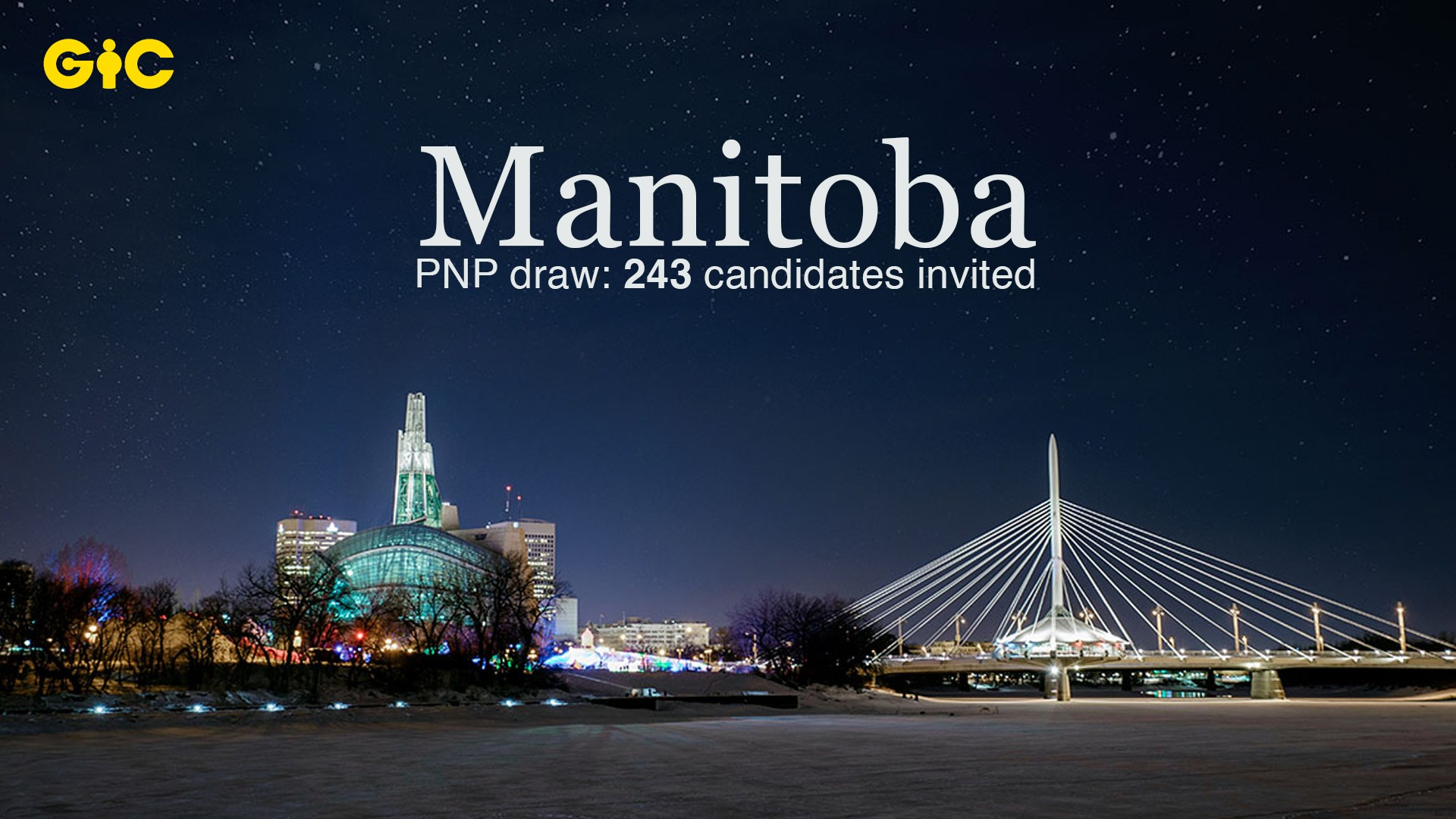 Manitoba PNP draw 243 candidates invited