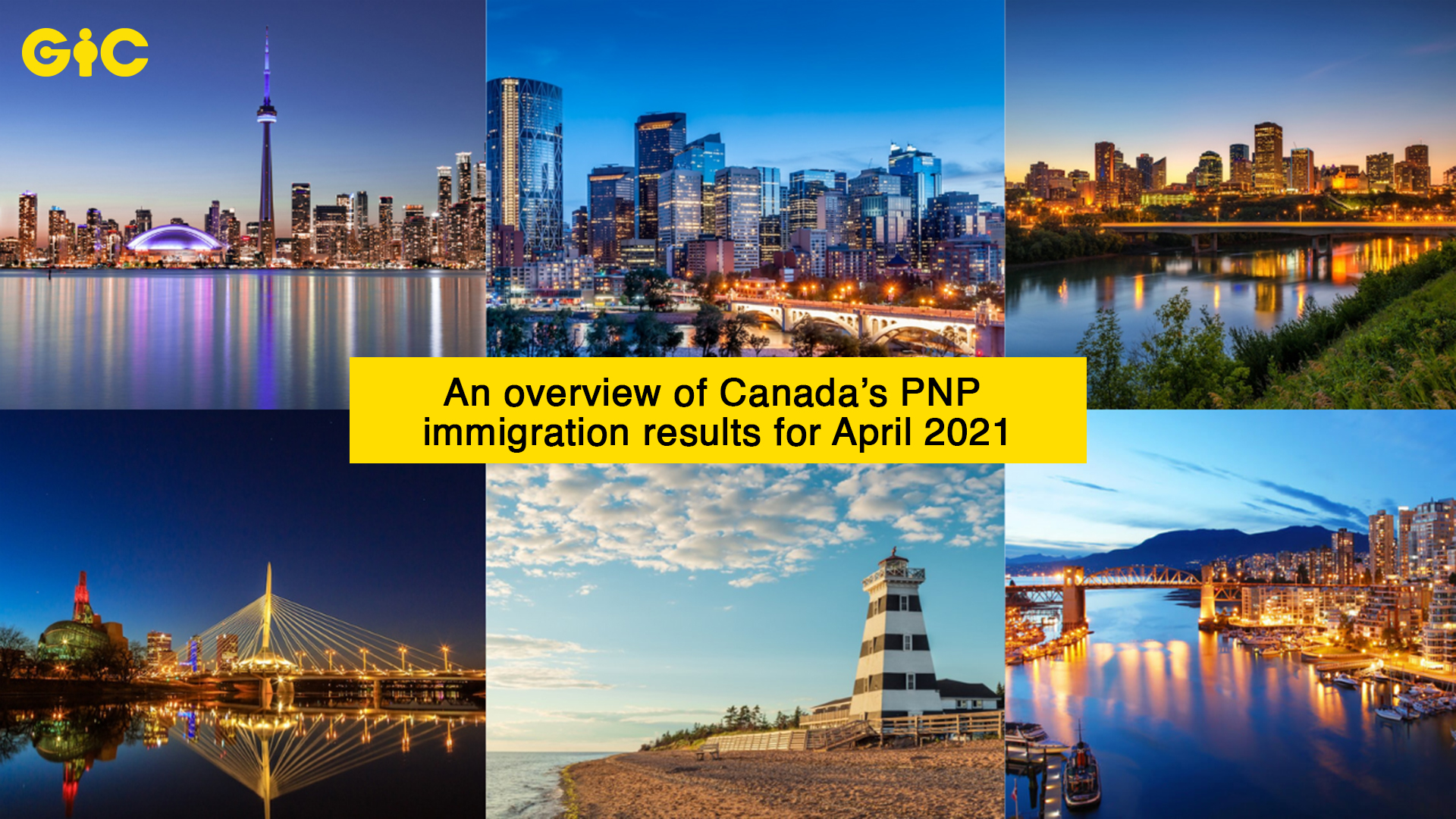 An overview of Canada's PNP immigration results for April 2021