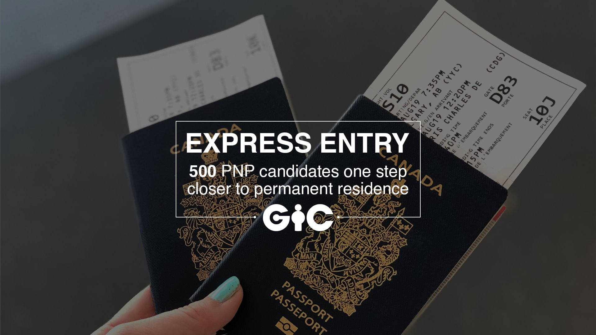 Express Entry 500 PNP candidates one step closer to permanent residence