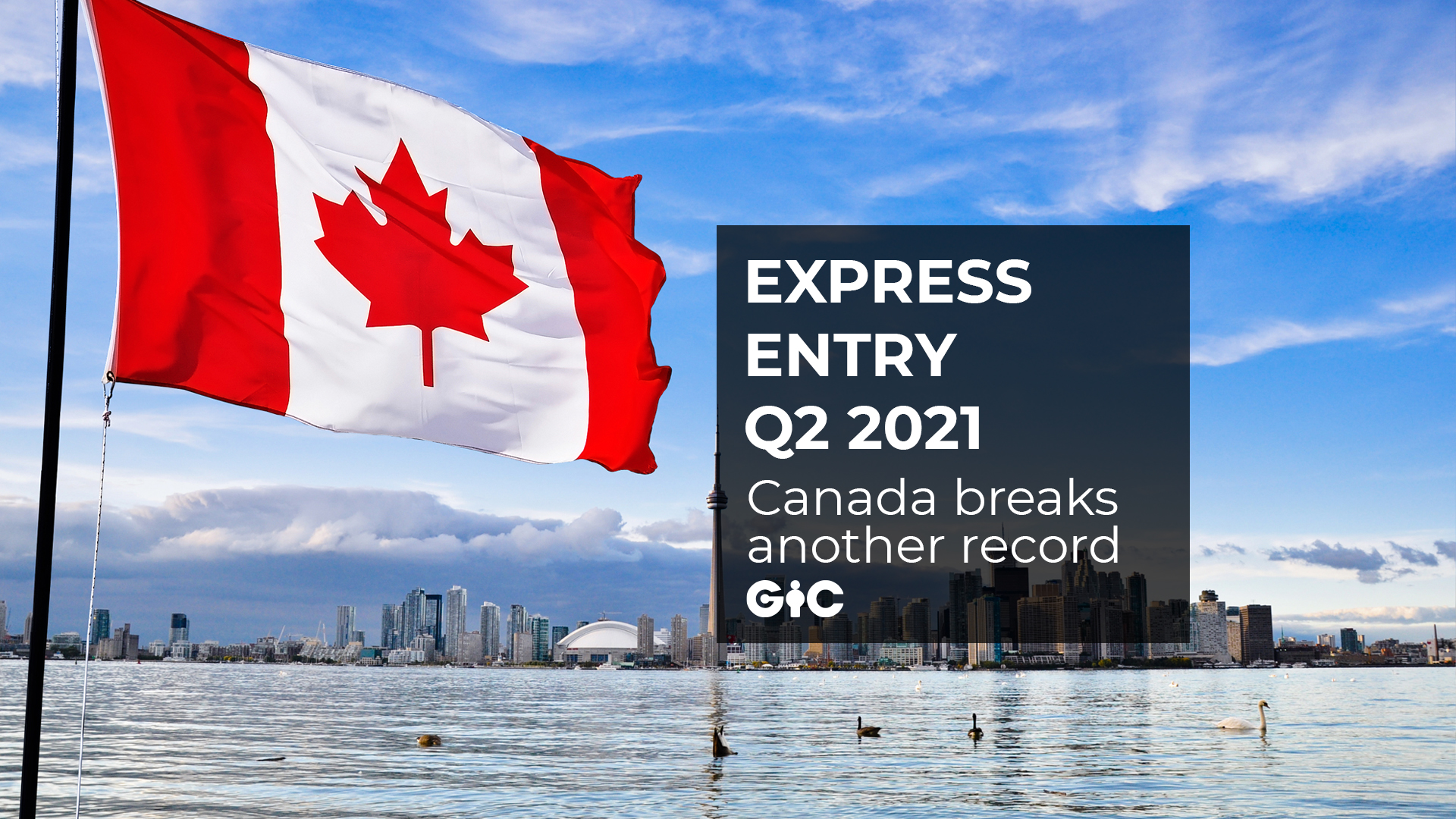 Express Entry Q2 2021 Canada breaks another record